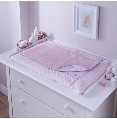 Clair De Lune Luxury Changing Mat - Marshmallow Pink